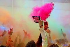 Holi festival (alessandro nicomedi) Tags: festival canon colore mani holi 600d