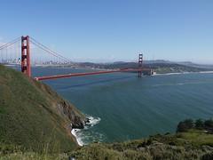 Golden Gate Bridge, San Francisco, Califonia (Yortw) Tags: sanfrancisco california bridge usa water lumix golden march gate unitedstates unitedstatesofamerica panasonic northamerica northernhemisphere 2016 microfourthirds dmcg10