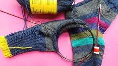 Updating Ravelry (pacific_rin) Tags: socks handknitting