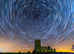 May The Fourth Be With You (nicklucas2) Tags: england night stars unitedkingdom astrophotography gb meteor knowlton henge shootingstar startrail eastdorsetdistrict