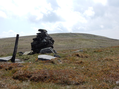 Cairn on Hugh Seat, 29th May, 2016