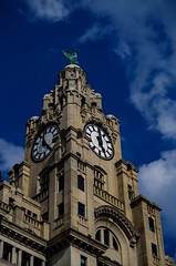 The Liver Building (MCParradox) Tags: liverpool waterfront liverpoolwaterfront threegraces liverpoolthreegraces 3graces liverpool3graces liverbuilding theroyalliverbuilding liverbird liverbirds