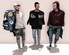 CONTROLLA (Levi Megadon // *OMG*) Tags: street new urban male men classic look shirt tattoo hair beard skinny blog cool shoes pants ripped style blogger fresh sneakers sl jeans waist event jacket cap secondlife footwear mens gb denim xv dope bomber shoulder distressed tee ultra facial hx sabotage represent seul sneaks lotd bolson invictus modulus noproject benjaminz deadwool kustom9 balkanik20 2byte valekoer