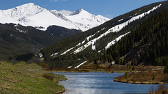 a Colorado, Rocky Mountains landscape (r a y  b r o w n) Tags: mountains colorado rockymountains snowcappedmountains