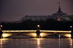 Crue de la Seine 2016 - Paris, Pont de la Concorde (EclairagePublic.eu) Tags: paris seine flooding eau flood lumire grand berge pont palais quai inondation lampadaire naturelle catastrophe crue luminaire candlabre