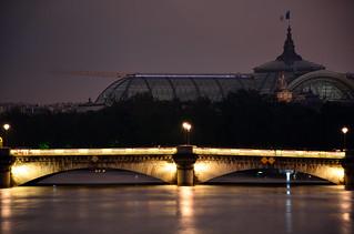 Crue de la Seine 2016 - Paris, Pont de la Concorde