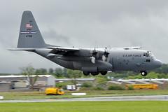 94-7316  C-130H  USAF (n707pm) Tags: ireland military lockheed usaf hercules transporter c130 mil coclare unitedstatesairforce herc snn shannonairport einn afrc c130h 731st 947316 cn5390 rch535 17052016