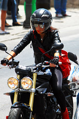 IMG_9363Ax (kanizfotolio) Tags: city leather canon lens landscape eos town spain europe motorbike spanish granada kits rider 500d