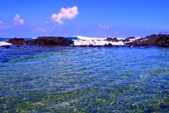 Morning walk Kailua-Kona - I (Anders Magnusson) Tags: sea cloud water hawaii wave kona thebigisland kailua kailuakona andersmagnusson