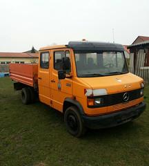 MB 611D (Vehicle Tim) Tags: truck mercedes kipper mb transporter lkw komunal