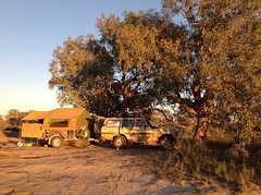 Campsite in the Cooper Creek SA (spelio) Tags: simpson trip 2016 may south australia remote creek river bed camp link expedition good scruby smoky campertrailer fave waxconverterstextiles clancy overflow poem velcropalace smoky60series spelio camper trailer offroad