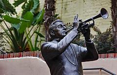 Luis Prima (Ellsasha) Tags: musician statue neworleans jazz lousiana bourbonstreet musicallegendspark