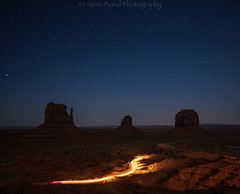 can you dig it_8108091 (steve bond Photog) Tags: arizona lighttrails monumentvalley mittens