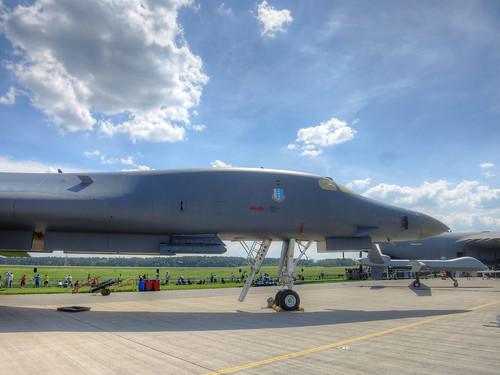 Rockwell B-1B at Berlin Air Show 2016