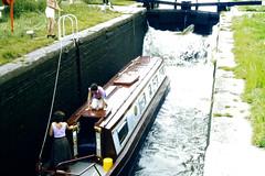 Slide 060-27 (Steve Guess) Tags: uk england canal lock pegasus derbyshire trent gb inland narrowboat mersey waterway derbys