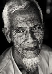Burmese muslim, Myanmar (Burma) (Dietmar Temps) Tags: travel portrait people face closeup beard 50mm eyes southeastasia skin burma muslim traditional culture oldman myanmar tradition ethnic burmese wrinkles birma ethnology
