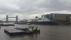 Cruise Ship Minerva (sarflondondunc) Tags: london towerbridge cityhall hmsbelfast cruiseship pooloflondon minerva riverthames southwark