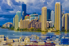 View of the downtown Miami, Florida, U.S.A. / The Magic City (Jorge Marco Molina) Tags: urban skyline downtown miami miamidadecounty