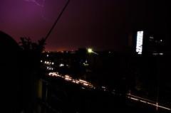 Lightning Bulb Exposure (RahulChandra23) Tags: street city longexposure summer india rain clouds landscape cityscape traffic famous monsoon lightning nikkor popular likes iphone nikkon trending