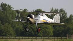 FlyNavy June2016_Glad_01 (andys1616) Tags: gloster gladiator k7985 gamrk flynavy airshow shuttleworthcollection oldwarden aerodrome biggleswade bedfordshire june 2016