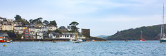 SCE_7069 (staneastwood) Tags: sea tower river boat cornwall foreshore polruan staneastwood stanleyeastwood yught