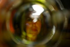 At The Bottom Of A Glass (eddi_monsoon) Tags: portrait selfportrait self 365 selfie threesixtyfive