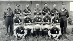 Welsh Football Team At Auschwitz Extermination Camp [ 624351] #HistoryPorn #history #retro http://ift.tt/1WlutYl (Histolines) Tags: camp history football team retro timeline welsh auschwitz extermination vinatage at historyporn histolines 624351 httpifttt1wlutyl