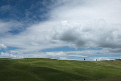 IMG_5559 (Zach V) Tags: italy clouds bluesky tuscany fields valdorcia sanquiricodorcia endlesssky canon70d canon1585mmis