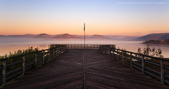 Sweet Nature (mvdc0w) Tags: travel light sky sun lake france beach nature water sunrise landscape moutains salagou