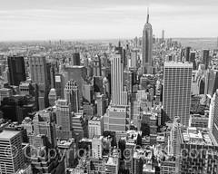 Island of Manhattan, New York City (jag9889) Tags: 2016 20160614 aerialview architecture bw blackandwhite building deck esb empirestatebuilding house landmark manhattan midtown monochrome ny nyc newyork newyorkcity observation observatory outdoor rockefellercenter rockefellerplaza skyscraper topoftherock usa unitedstates unitedstatesofamerica jag9889