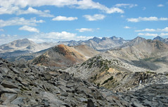 View to north from Post Peak Pass (kennsrempel) Tags: anseladamswilderness