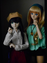 Lynn and Sheryl 062516-01 (ArtCresc) Tags: dollfiedream bjd dds dh07