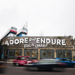 Lets Adore & Endure Each Other. Steve Powers. (John Abila) Tags: travel vacation england toronto canada london art museum architecture design europe graphic institute without boundaries