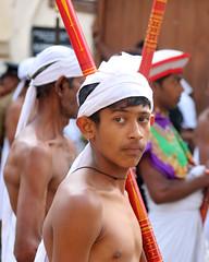 Perahera Portraits (IMG_3708b) (Dennis Candy) Tags: street boy portrait heritage face festival youth costume day expression religion culture buddhism parade celebration srilanka ceylon procession tradition serendipity pageant hinduism kandy perahera serendib serendip esala