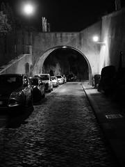 Roma_Notturno_264_1240 (Dubliner_900) Tags: bw rome roma monochrome nightshot olympus biancoenero lazio notturno micro43 handshold omdem5markii mzuikodigitaled1240mm128pro