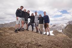 Old Man Mountain (Zac Staffiere) Tags: rockies jasper hiking roadtrip alberta banff peyto