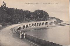 Perros-Guirec, route de la Corniche. (Only Tradition) Tags: france 22 frankreich frana bretagne frankrijk francia franca franciaorszg  frana