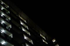 Lights in Darkness (kiawui) Tags: lights singapore darkness 55mm vivitar hdb neighbourhood a7ii vintagelens panagor manuallens highriseflats sonyalpha tanglinhalt legacylens sonyimages a7m2 sonya7m2 sonya7ii