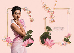 International Portfolio: My Lotus Flower Images at work around the world - India - Niloufer/Lotus Flower Jewelry Collection by TANISHQ (a TATA company) Model: Sridevi Kapoor (Bahman Farzad) Tags: world india flower by work model lotus tata jewelry images collection company international around portfolio kapoor tanishq sridevi a my nilouferlotus
