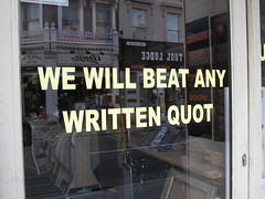 We will beat any written quot (duncan) Tags: quote spelling spellingmistake quot