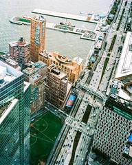 Urban Planning (danielfoster437) Tags: newyorkcity analog mediumformat manhattan drivingschool onthemove urbanplanning citystreet citygrid downtownmanhattan mamiya7 urbantransit citytraffic urbantransportation drivinginnewyork transportationplan newyorkdriving