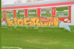 imm000_0A (coloredsteel) Tags: train canon graffiti ae1 steel kunst 400 program colored bombing ulm spotting rossmann trainwriting