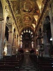 S. Maria Assunta (SixthIllusion) Tags: travel italy church architecture gold interior basilica liguria baroque camogli barocco