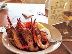 Marron at the Marron Cafe - Kangaroo Island (JohnVenice) Tags: restaurant cafe australia winery seafood outback crustacean marron southaustralia kangarooisland marroncafe andermel twowheelercreekwines