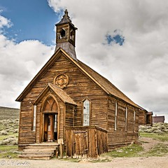 The church (Photo_Engineer) Tags: park ca usa nature insects ghosttown bodie