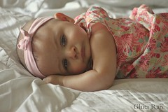 Baby is thinking... (Ghita Rais) Tags: kids children babygirl lovely cuteness canon500d