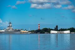 Bookends (floydbob) Tags: arizonamemorial battleship ussmissouri hickamfieldtower