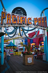 Pacific Park amusement park at Santa Monica Pier (3scapePhotos) Tags: california park santa vertical amusement pier losangeles los place pacific angeles santamonica monica