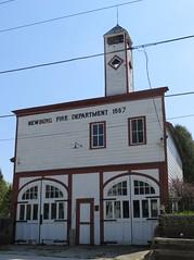 Old Fire Department (Newburg, Wisconsin) (courthouselover) Tags: wisconsin wi newburg firestations washingtoncounty milwaukeemetropolitanarea