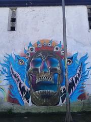 Calavera... (Mauco al Agua) Tags: graffiti calavera osorno mauco